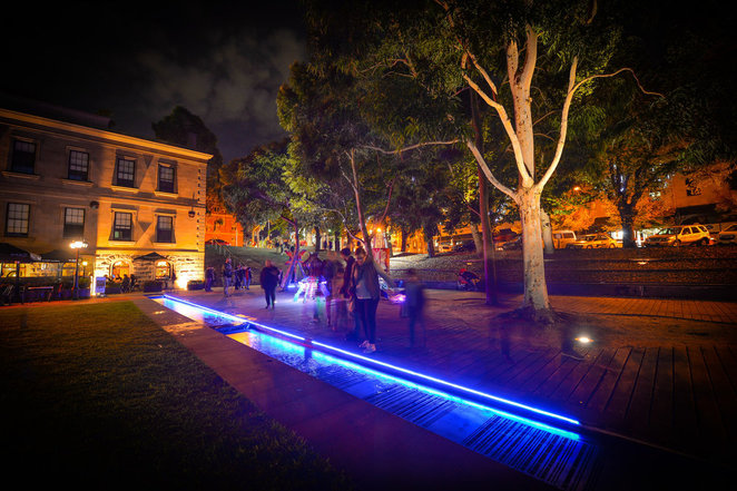 Geelong After Dark, 2018, Art, Geelong, Festival, Free, cheap, Events, family friendly, colourful, bright lights,