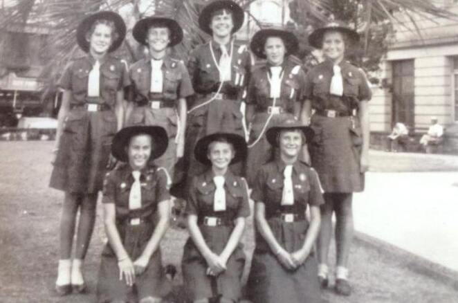 Girl Guides Brownies