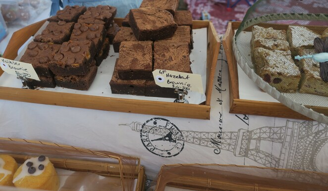 handmade, expo, markets, Ipswich, addicted , buttons, may cross, brownies