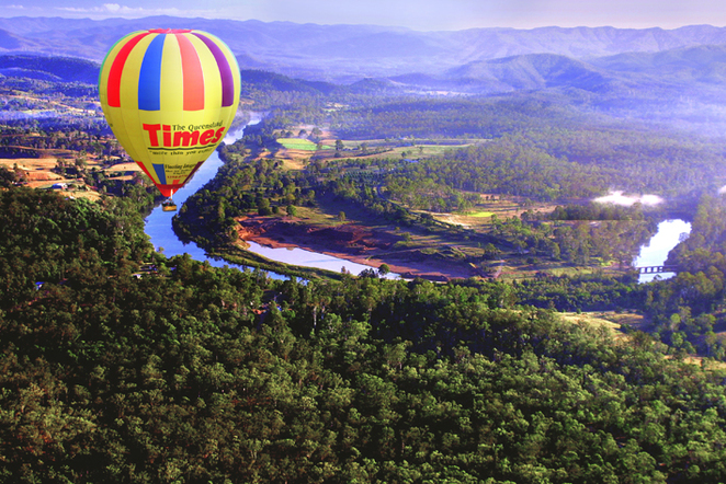 Hot Air Balloon; adventure; celebration; scenic rim; ipswich; outdoors