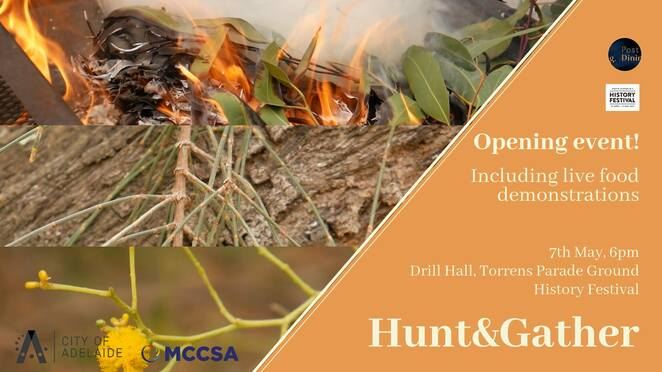 hunt and gather, history festival, exhibition