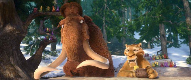 ice age, ice age 5, ice age collision course, asteroid vs earth, scrat, manny woolly mammoth