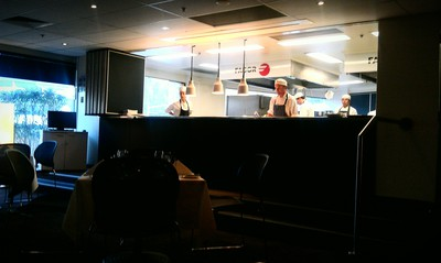 Kitchen @ William Blue dining