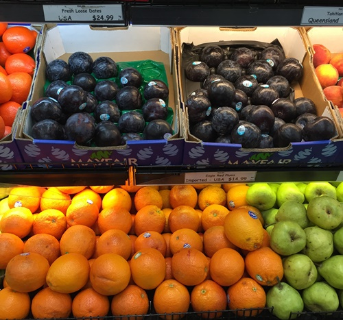 Imported,plums,from,USA