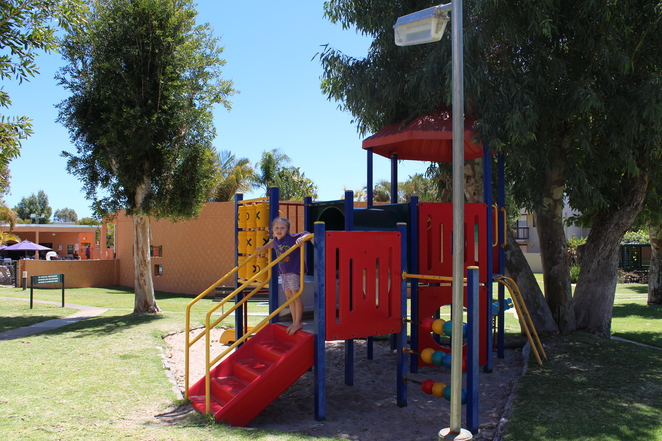 Kalbarri Beach resort playground