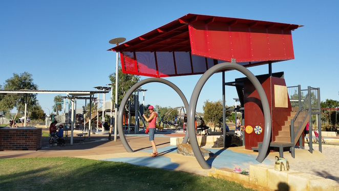 Karratha playground, baynton west playground, baynton west park, karratha parks, pilbara playground, kids in karratha