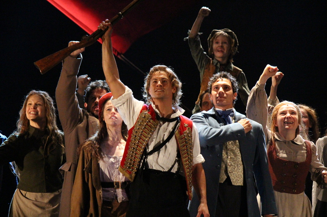 Les Miserables opens in Sydney at the Capitol Theatre (photo by Adrian Kmita)