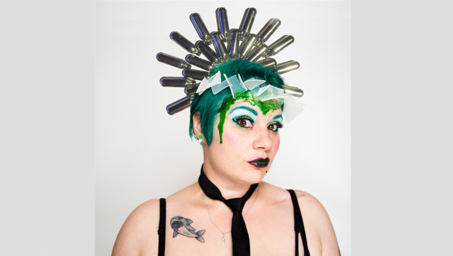 lisa-skye, spiders wearing party hats, melbourne international comedy festival, queer, polyamory, culture, femme daddy, dominatrix