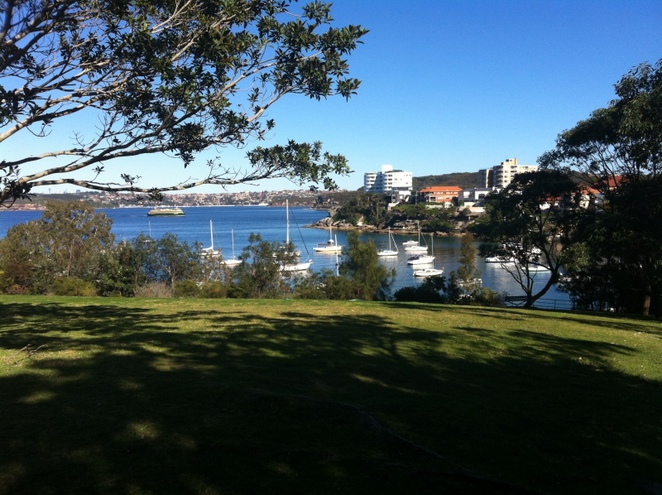 Little Manly Point, barbecue, BBQ, park