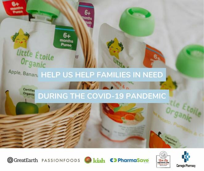 Little Étoile Organic, Healthy, Happy & Bright, covid-19 support initiative, nominate a deserving family, free giveaway, Little Étoile Organic free support package, organic baby food, nutrient dense food, safe baby food giveaway