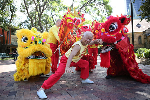 Lunar New Year 2017, Parramatta, Year of the Rooster
