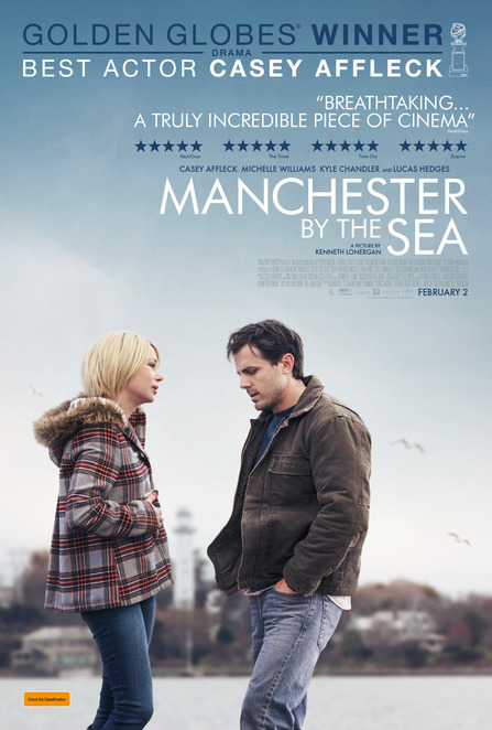 Manchester by the Sea, Adelaide, Cinemas, film, event, media, Universal Pictures, February, Drama, February 2, New films