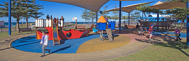 Maroubra Beach Playground, Eastern Suburbs Fenced Playgrounds