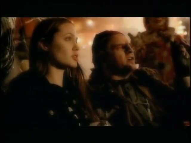 meat loaf, meatloaf, bat out of hell ii, video, screen, angelina jolie