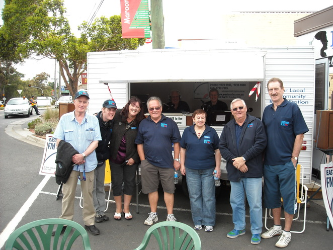 Meet the DJ's at Radio Eastern on Sunday at the Sausage Sizzle