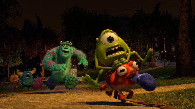 monsters university billy crystal mike wazowski sulley john goodman