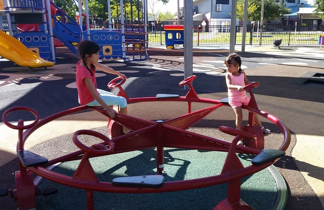 Mount Isa, Mount Isa Family Fun Park, playground, water play, free, children activity, bike track