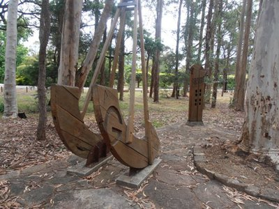 A visit to this park will help your children to better appreciate the visual arts.