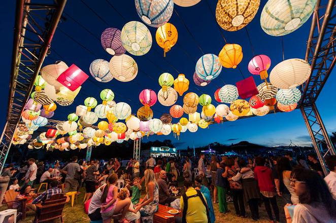 night noodle markets, enlighten, canberra, 2017, autumn, march, festivals,
