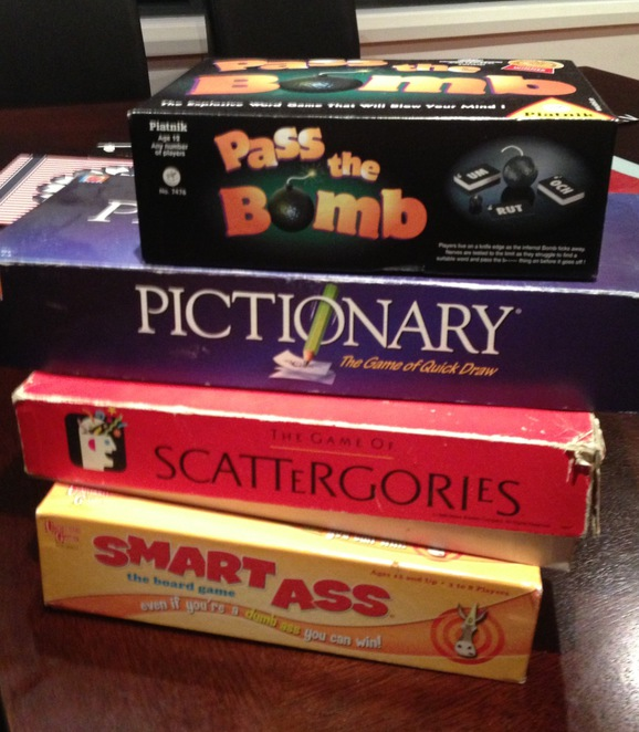 Old Fashioned Games night