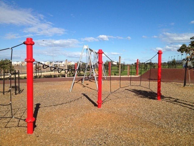 Park, playground, off the lead dog area, bike riding and walking track, soccer, football, tennis, bbq, Thomas Chirnside
