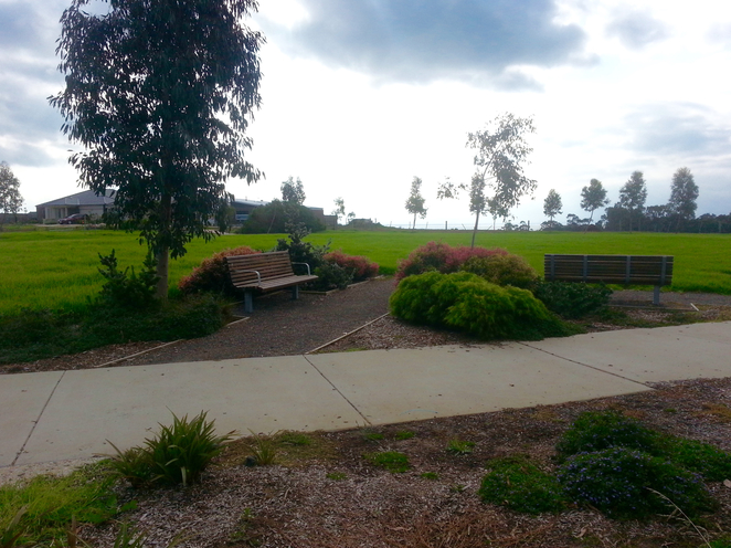 Percy Cherry Park, Curlewis, Bellarine, Clifton Springs, picnic table, seating, grass, dog-friendly,
