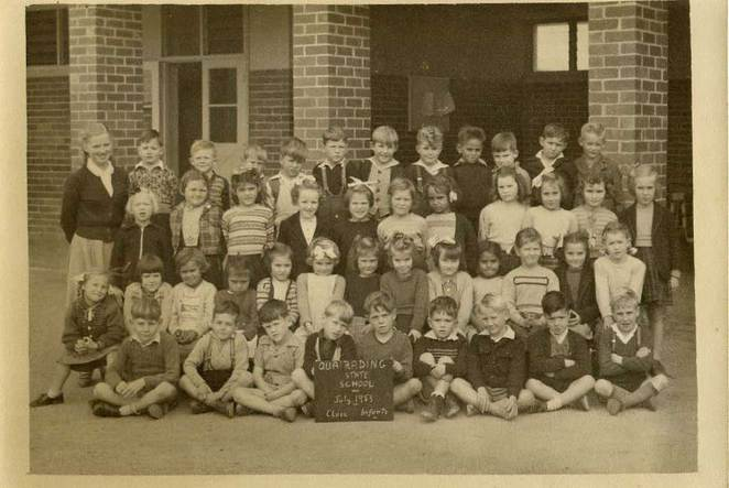 Quairading District High School, infants' class of 1953