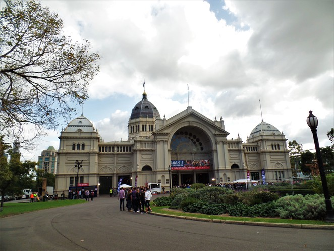 royal exhibition building exterior