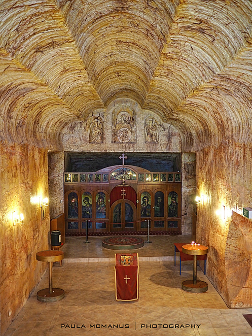 Serbian Orthodox Church Coober Pedy