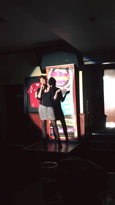 simone eclair comedian open mic stand up comedy