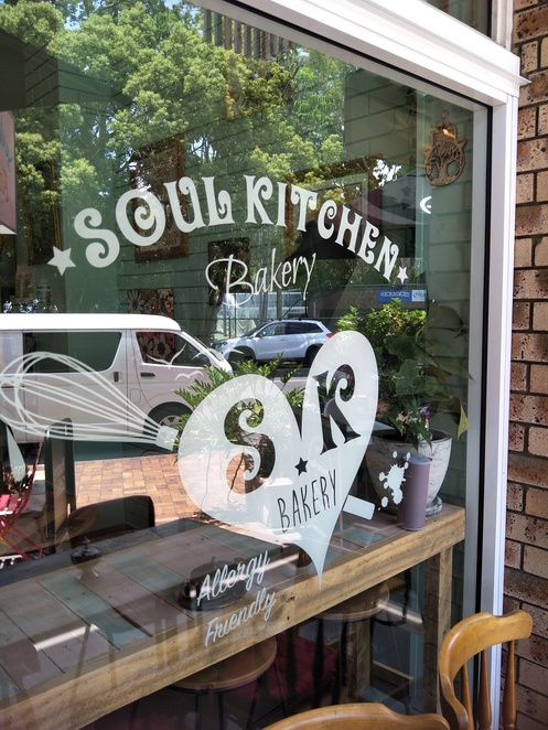 Soul Kitchen sign