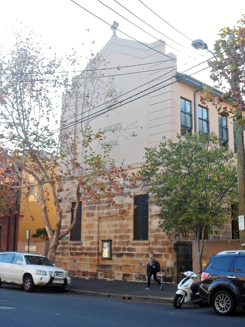 st brigids church school, st brigids church school millers point