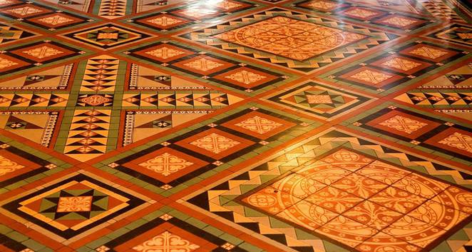 St Paul's Cathedral floor tiles