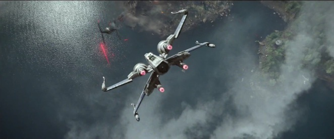 Star Wars The Force Awakens (Star Wars Episode VII) - X-Wing and Tie Fighters