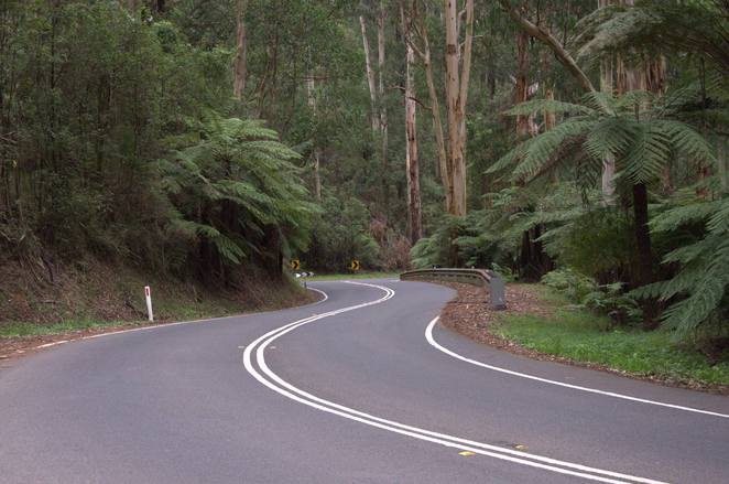 Stunning drive to the Dandenongs