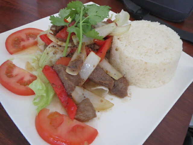 Thanh Viet Restaurant, Shaking Beef with Rice, Adelaide