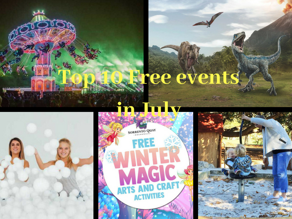 Top 10 Free Events in July