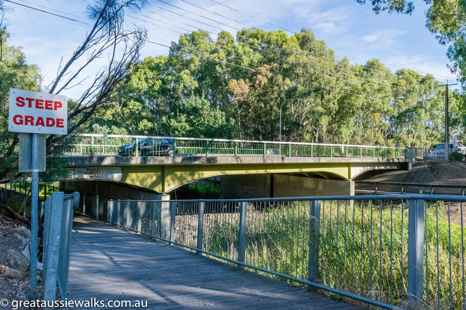 Torrens Linear Park, Adelaide, cycle, walk, hazel Cochrane