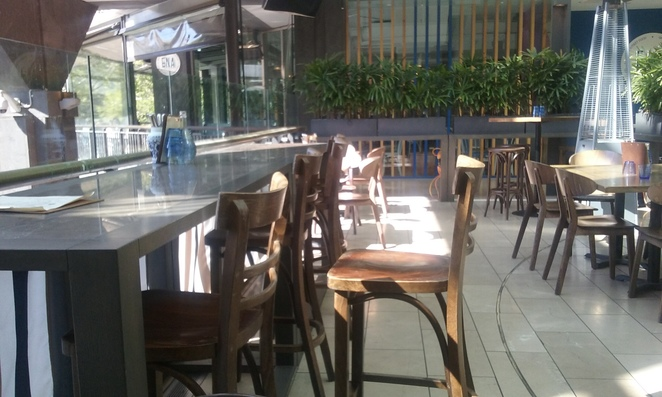 Tutto Bene Seating Outside
