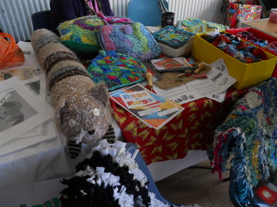 upcycle, recycle, crafts, rags to rugs