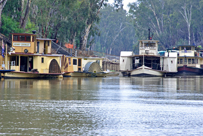 Victoria Melbourne Echuca Murray River Brown Brothers PS EMMYLOU Fine Wine Dinner Cruise