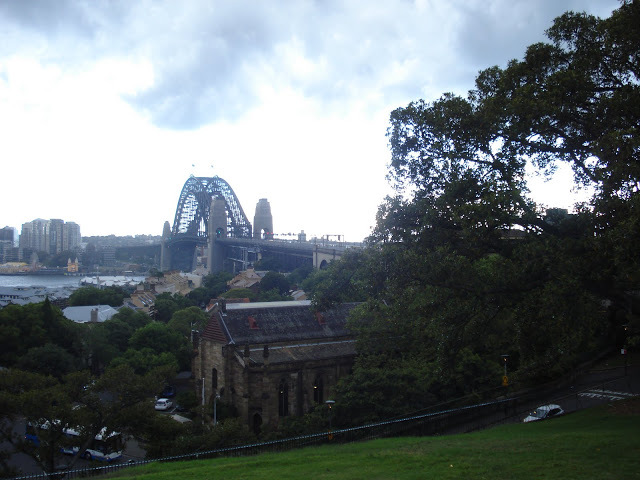 Viewof Sydney Harbour Bridge from Observatory