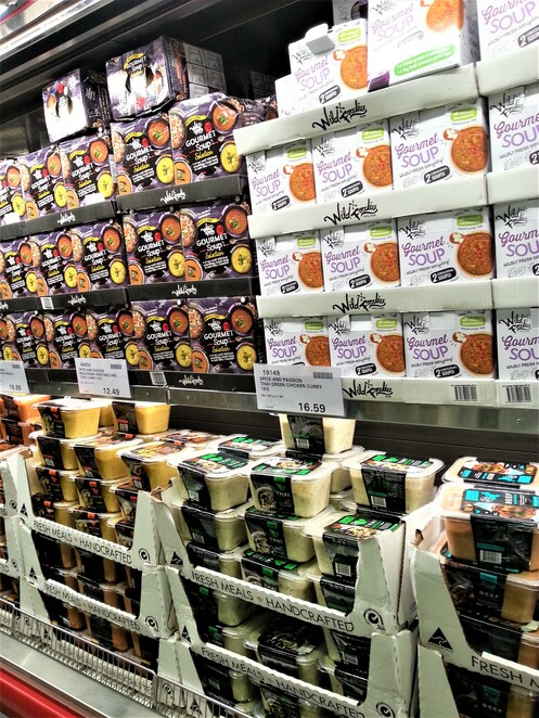 warehouse, supermarket, costco epping, food, gourmet soup