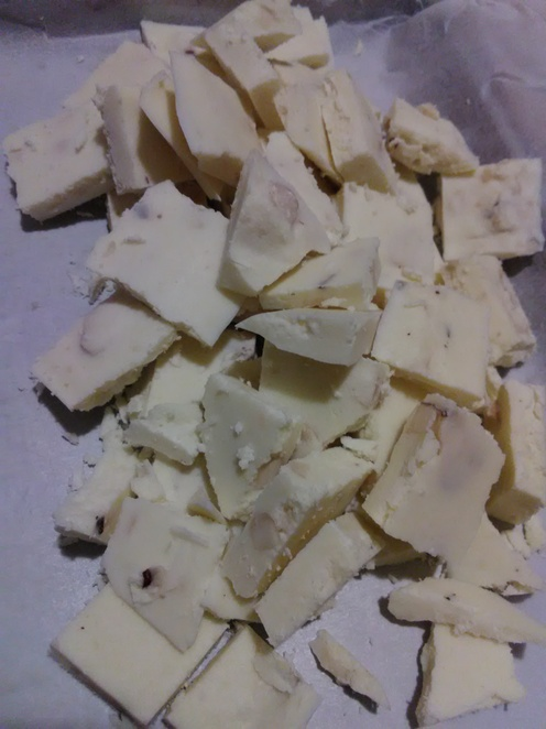 White chocolate, sugar free, recipe, sweets, years, low carb, life carbohydrate, LCHF, keto