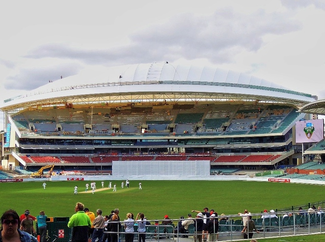 adelaide, adelaide oval, adelaide casino, cricket, redevelopment, grandstand, media, football, scoreboard, video