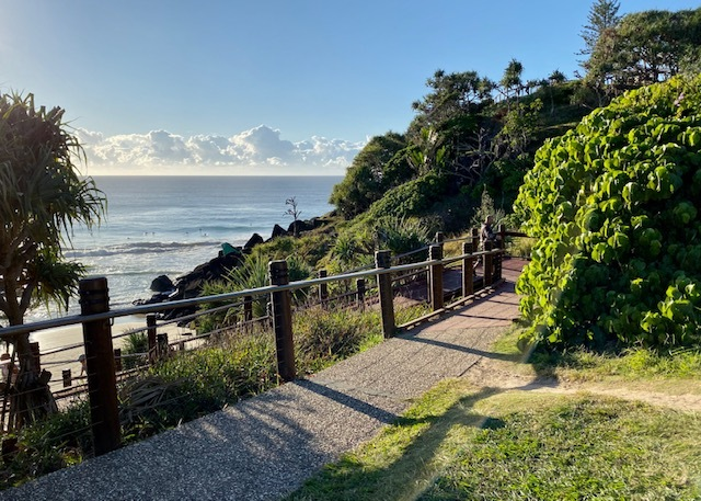 Apex Park sits along the Gold Coast's coastal walk which provides further stunning ocean views and lookout opportunities