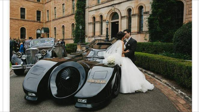 batmobile car hire sydney