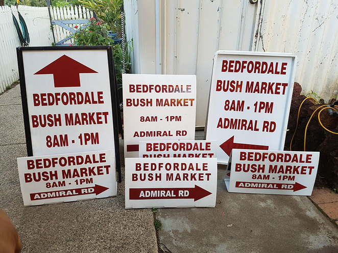 Bedfordale Bush Market the 4th Saturday of each month