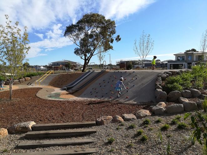 bettong avenue, throsby, playground, throsby park, canberra, gungahlin, new park, new playground, throsby suburb, kids, families, children, new playgrounds in canberra,