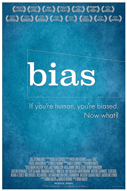 bias, documentary, robin hauser director, community event, cinema, transitions film festival 2020, hidden bias, implicit bias, soul searching, night life, date night, educational, entertainment, world issue, the human race